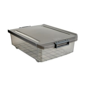 Šedý úložný box pod postel Ta-Tay Storage Box, 32 l
