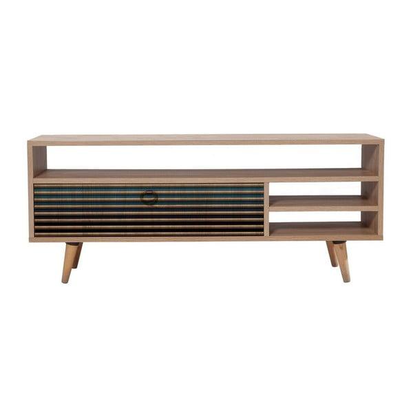 Dřevěný TV stolek Agapis Black