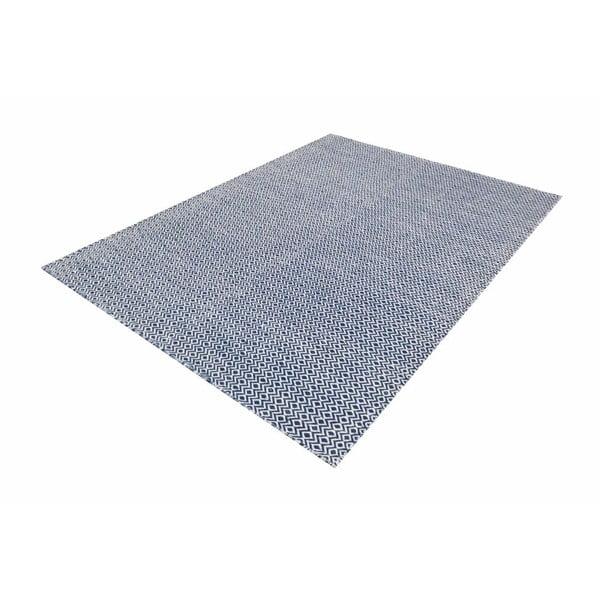 Koberec Flat Blue Waves, 150x215 cm