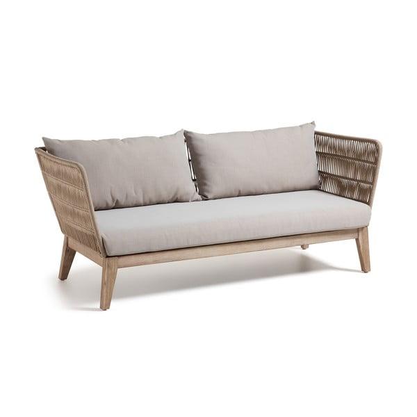 Beżowa sofa 3-osobowa La Forma Bellano
