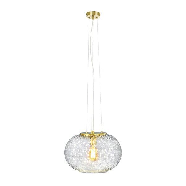 Závěsné svítidlo v mosazné barvě Markslöjd Boutique