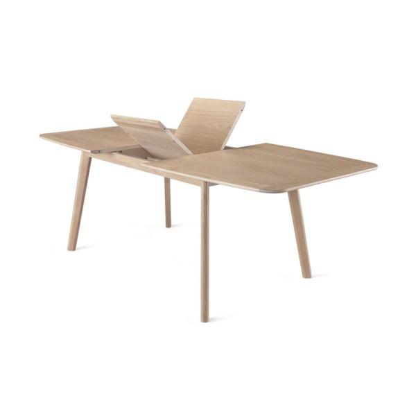 Rozkládací jídelní stůl z dubového dřeva Wewood - Portuguese Joinery Azores, délka200-270cm