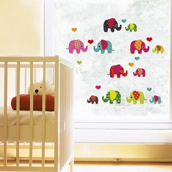Samolepka na okno Lovely Elephant