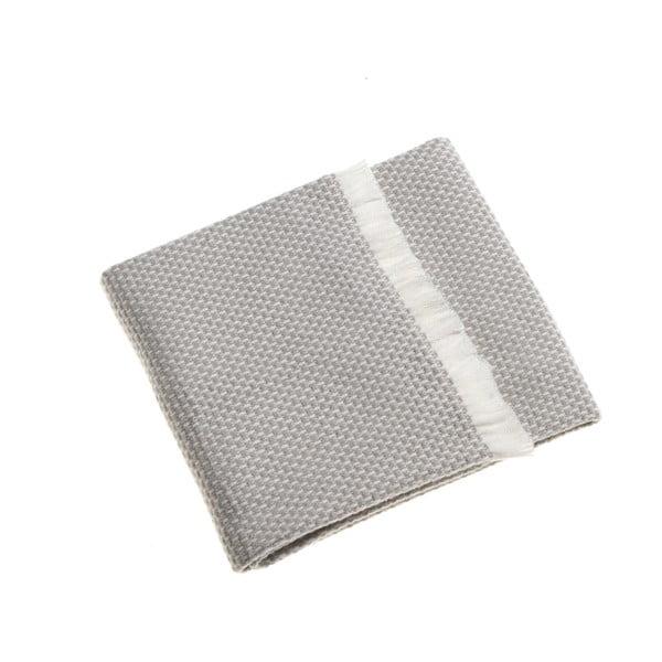 Světle šedá dětská deka Euromant Zen, 75x110cm