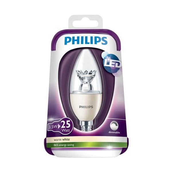 LED žárovka Philips 25W E14 WW B35 CL Dim/4