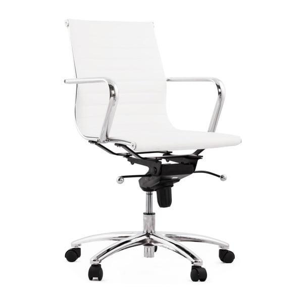 Biały fotel biurowy Kokoon Michelin