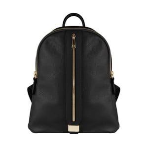Černý kožený batoh Maison Bag Lisa