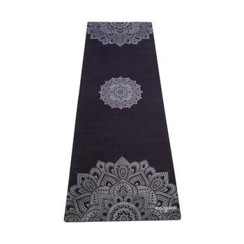 Saltea pentru yoga Yoga Design Lab Travel Mandala, 0,9kg, negru imagine