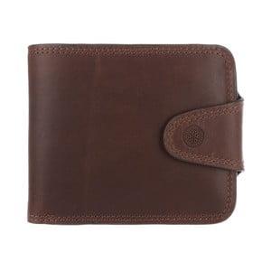 Kožená peněženka Clark Conker Brown