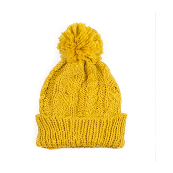 Żółta czapka unisex Art of Polo