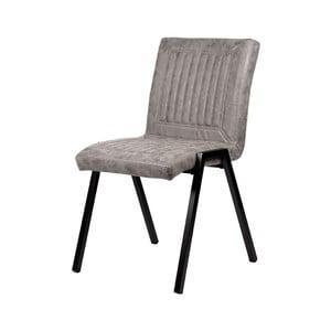 Šedá jídelní židle LABEL51 Boris