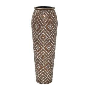Váza InArt Brown Metal, 60 cm
