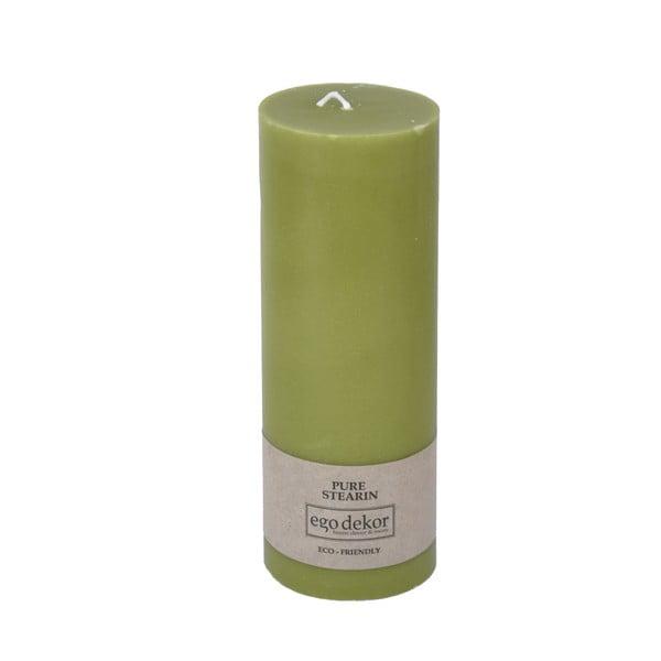 Zelená svíčka Baltic Candles Eco, výška 20cm