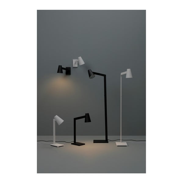 Bílá stolní lampa Design Twist Fahy