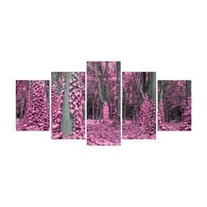 Vícedílný obraz La Maison Des Couleurs PurpleForest