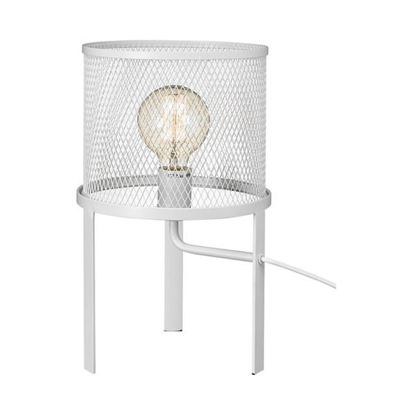 Bílá stolní lampa Markslöjd Grid
