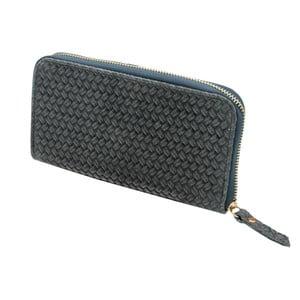 Šedá peněženka z pravé kůže Andrea Cardone Cahlia