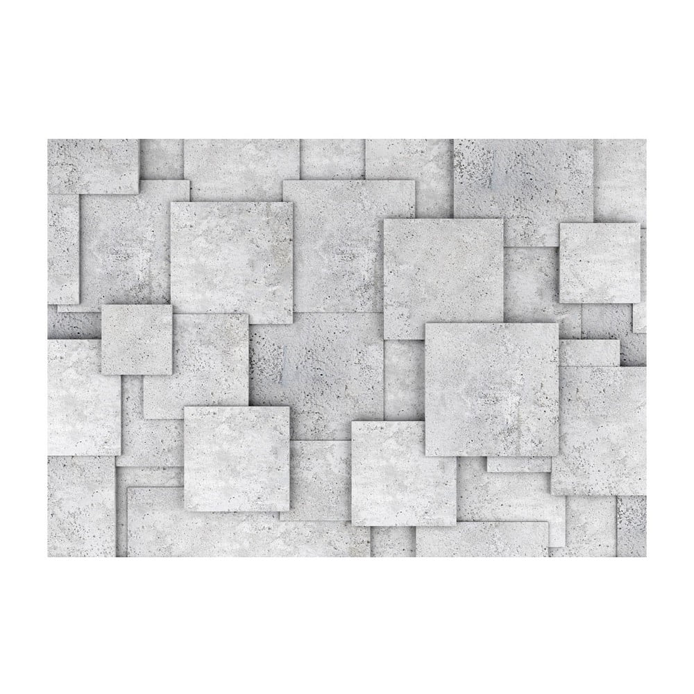 Velkoformátová tapeta Bimago Concrete Abyss, 400x280cm