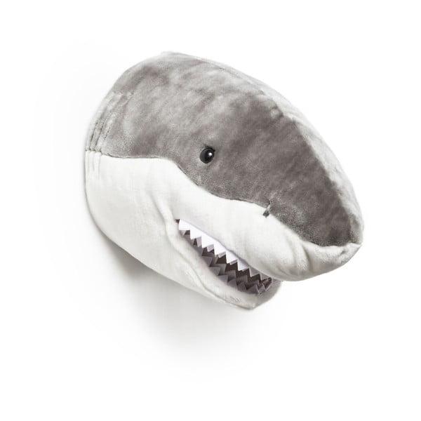 Plyšová trofej Žralok Jack