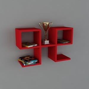 Police Vita Book Red, 22x65,4x40 cm