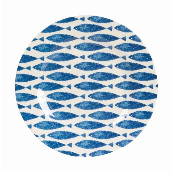 Sada 6 ks talířů Couture Fishie, 20,3 cm
