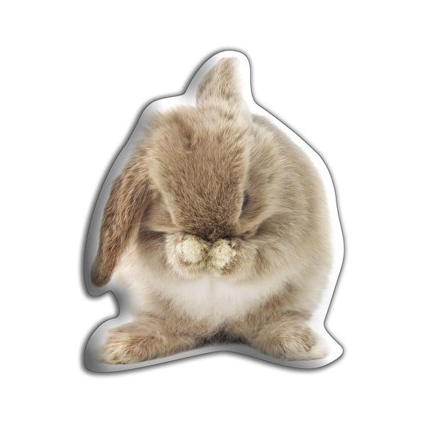 Polštářek Adorable Cushions Hnědý králíček