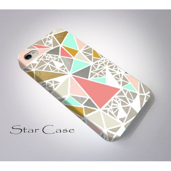 Obal na iPhone 6 Geometric Glitter
