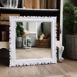 Zrcadlo Orchidea Antique White, 70x70 cm