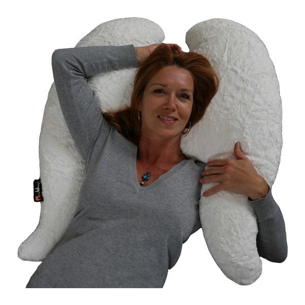Andělský polštář Wings Classic krémově bílá, 80x70 cm