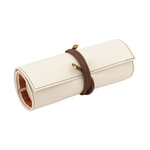 Šperkovnice Ascot Roll Ivory White, 20x8x6 cm