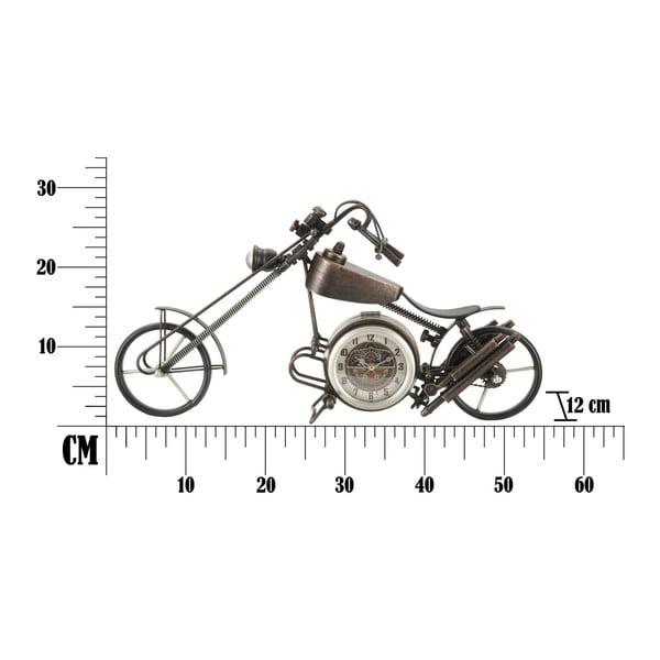 Stolní hodiny ve tvaru motorky Mauro Ferretti, 55 x 28 cm