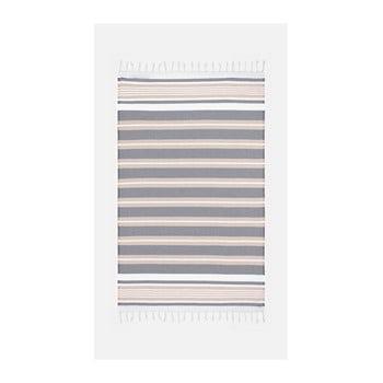 Prosop de plajă Kate Louise Cotton Collection Line, 100 x 180 cm, bej-gri de la Kate Louise