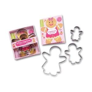 Sada 3 vykrajovátek Cooksmart England Gingerbread Girl
