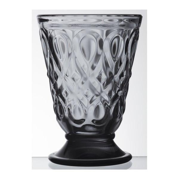 Antracitová sklenice La Rochère Lyonnais, objem 200ml