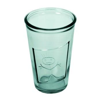 Pahar din sticlă reciclată Ego Dekor Zeus, 300 ml, albastru poza