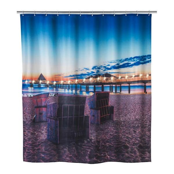 Led Vacation zuhanyfüggöny, 180 x 200 cm - Wenko