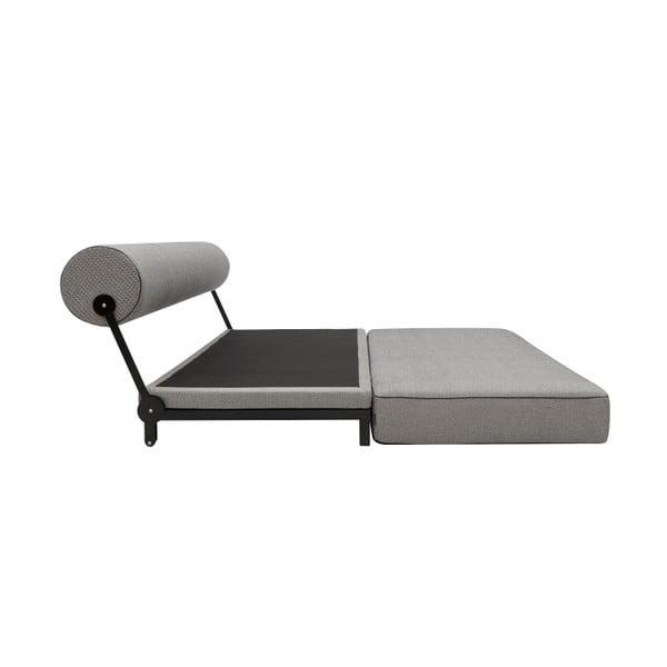 Šedá rozkládací sedačka Softline Sleep