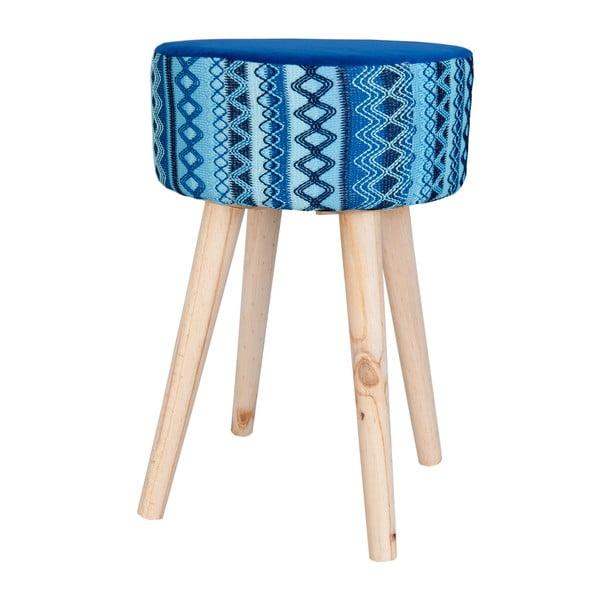 Stolička Blue Vagon