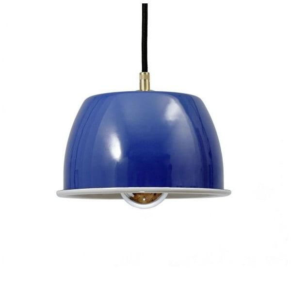 Stropní svítidlo Emailleleuchte 05 Blue/Black