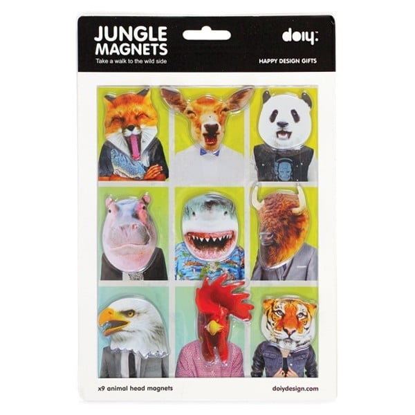 Magnety Jungle Magnets