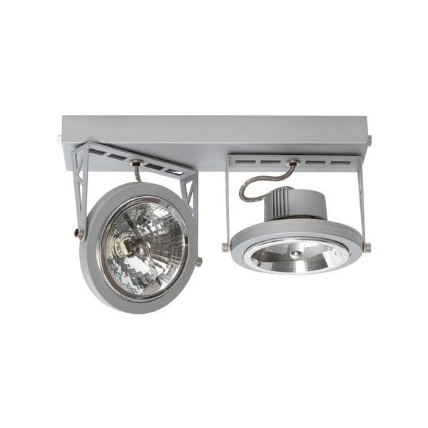 Stříbrné dvojité stropní světlo ETH Lofar
