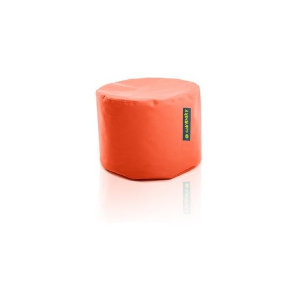 Sedací vak Taburet, oranžový