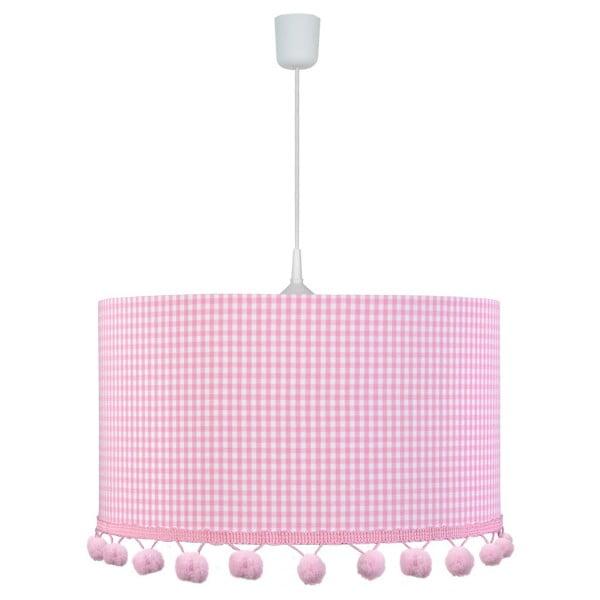 Závěsné světlo Pink Pompom