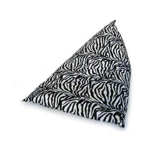 Sedací vak Pyramida (zebra)