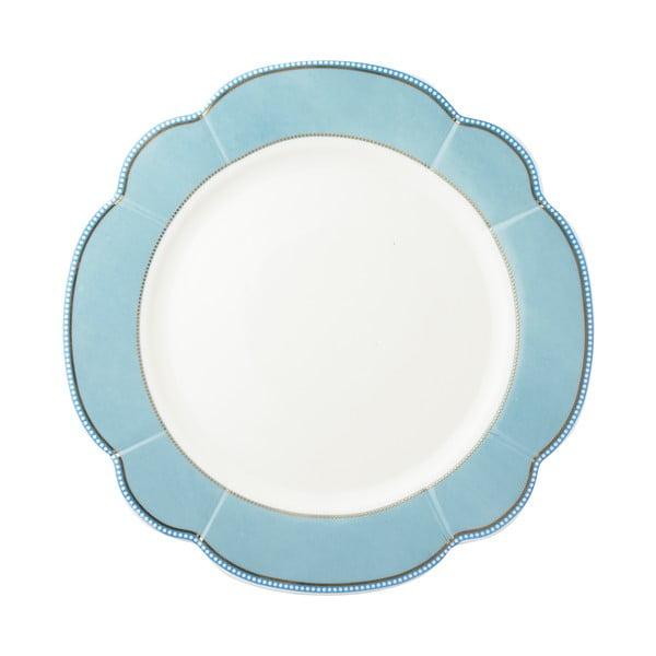 Porcelánový talíř  Minitie od Lisbeth Dahl, 24 cm, 4 ks