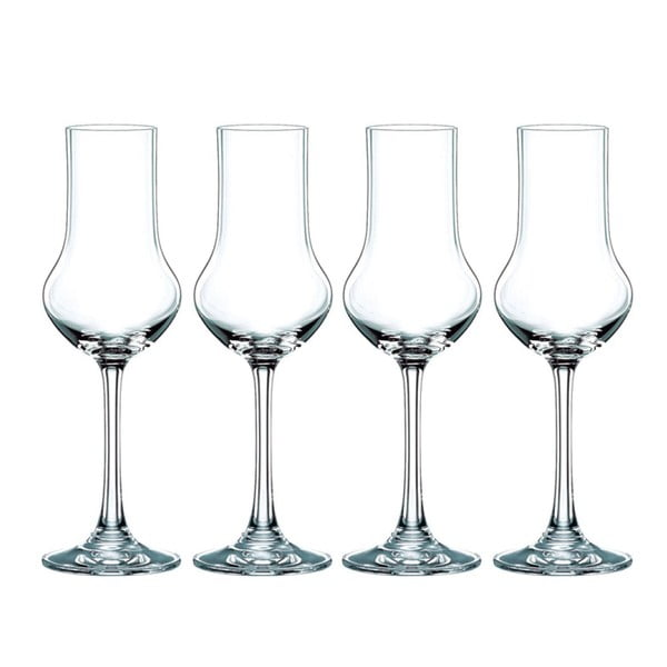 Sada 4 pohárov z krištáľového skla Nachtmann Vivendi Premium Stemmed Spirit Set, 109 ml