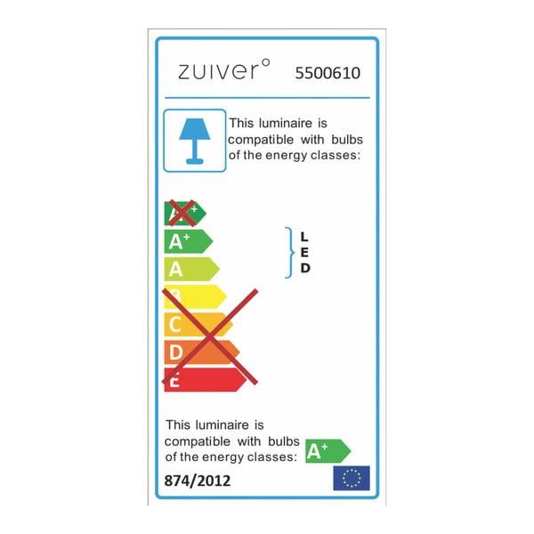Nástěnné LED svítidlo ve stříbrné barvě Zuiver  Luci2