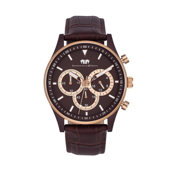 Pánské hodinky Rhodenwald&Söhne Nightwalker Brown/Gold