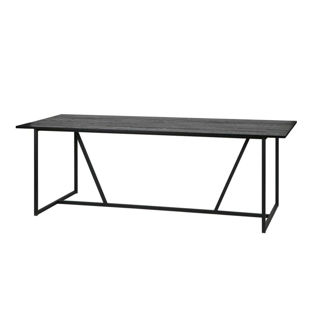 Jídelní stůl s deskou z dubového dřeva WOOOD Silas, 90x220cm