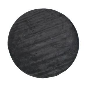 Modrý koberec WOOOD Dreams, ⌀ 200 cm